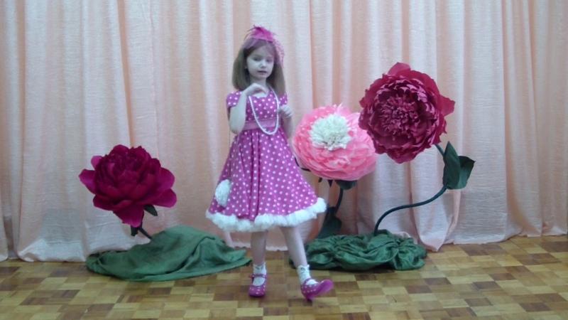 Литвин Ксения, 6 лет. Тук, тук, тук - стучит каблук