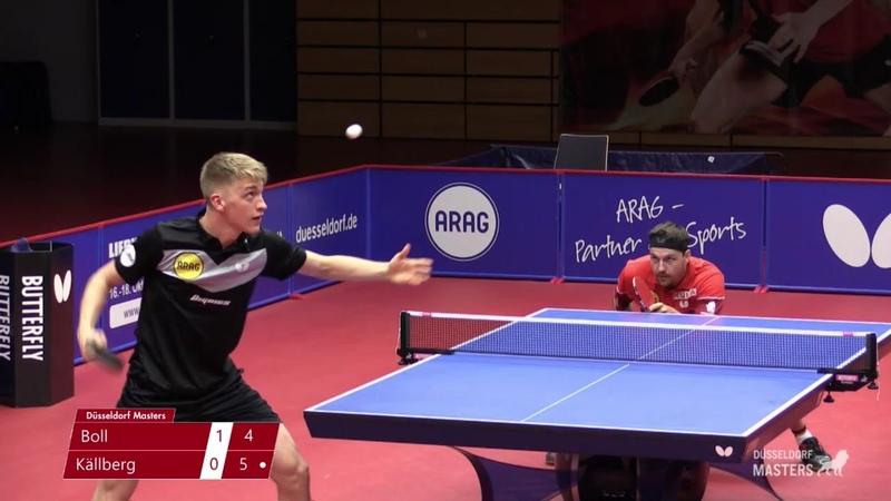 Timo Boll vs Anton Kallberg 2020 Düsseldorf Masters