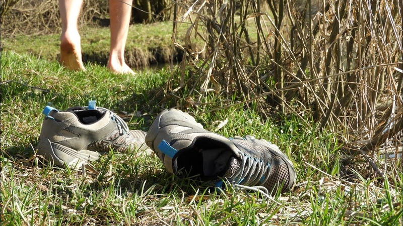 Walking barefoot in nature is an art See What Happens