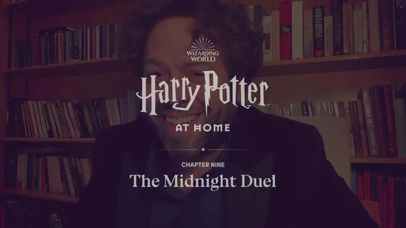 Watch Dan Fogler and Alison Sudol read Harry Potter at home 1