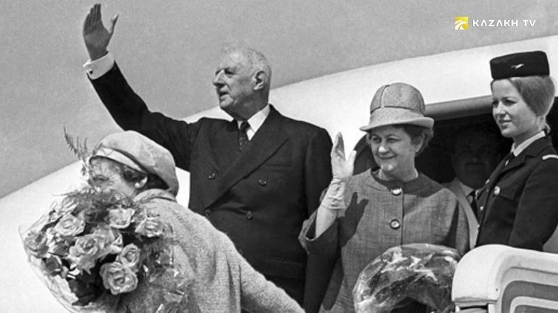 Визит Шарля де Голля на Байконур