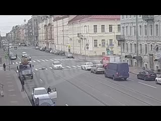 Сбили пешехода на Васильевском острове