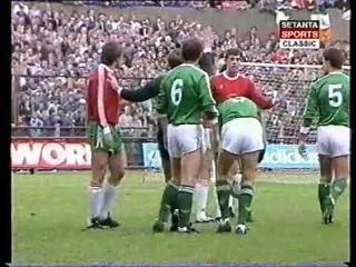 1988 UEFA Euro Qualifiers - Ireland v. Bulgaria