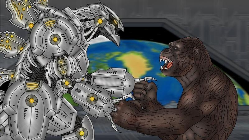 Кинг Конг против Годзиллы 24 King Kong vs Godzilla 24 Mechagodzilla Return