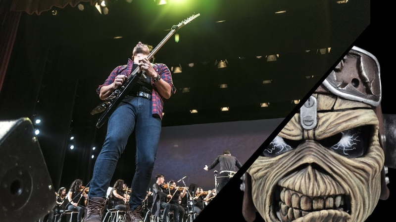 Iron Maiden Symphonic Medley II The Trooper Hallowed be Thy Name and Aces High