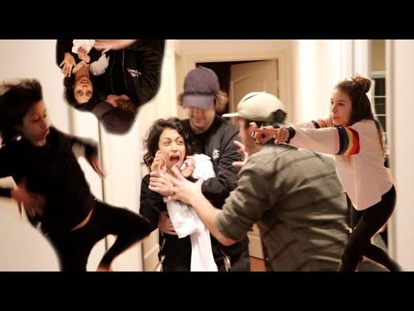 LIZA KOSHY AND KRISTEN MCATEE DANCE BATTLE
