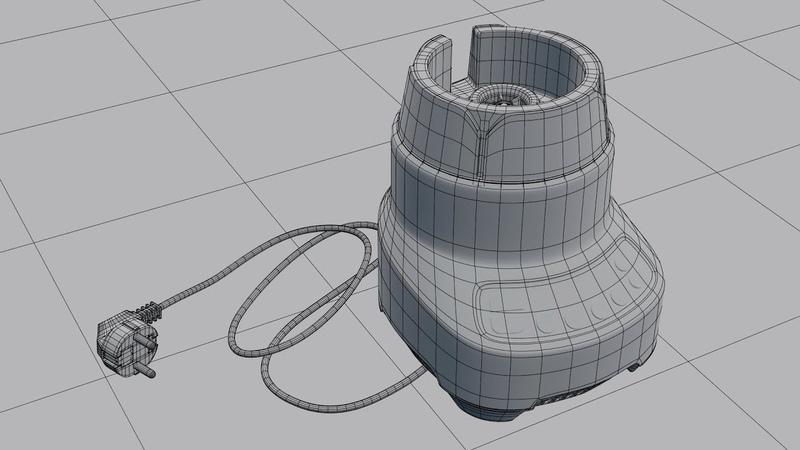 Создание блендера в Blender (моделирование 13)