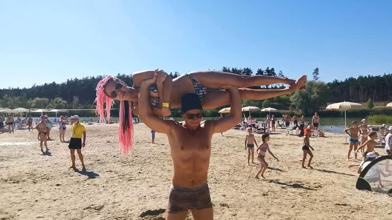 Пляжная тусовка ЖимовФитнесОбучение