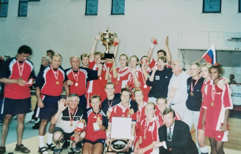 Молодежная сборная России (1983 г.р.) — чемпионы Европы
