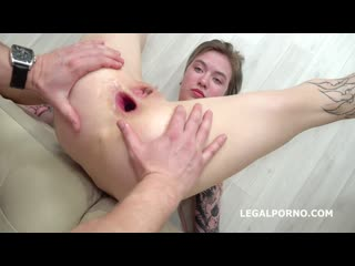 Mr. Anderson Anal Casting, Lina Piggy welcome to Porn with Balls Deep Anal, Nice Gapes and Cum in Mouth GL141 fhd