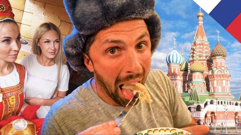 EPIC RUSSIAN FOOD FEAST Moscow Russia