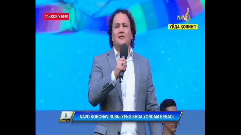 O'lmas Oloberganav Lazgi Live