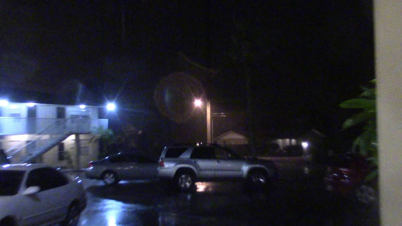 Hurricane Matthew 1 Oct 6 2016 Titusville FL