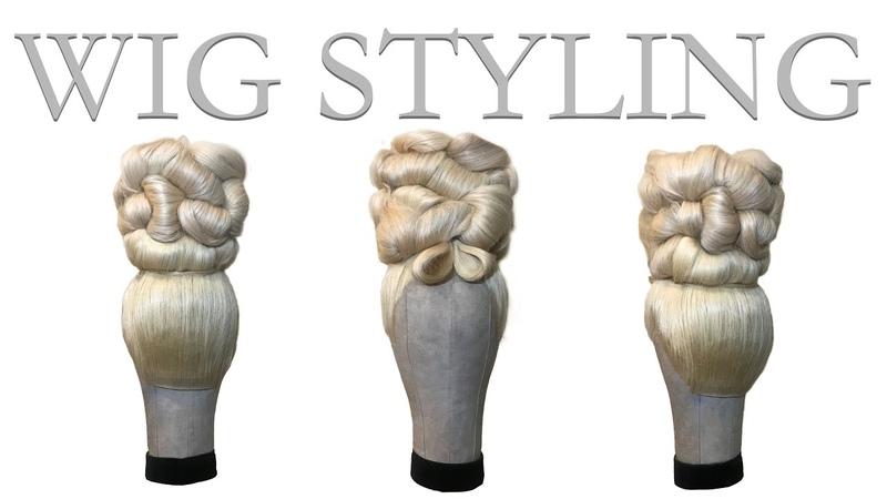 Aristocrat Style Big Wig Hair!! Wig Tutorial !!