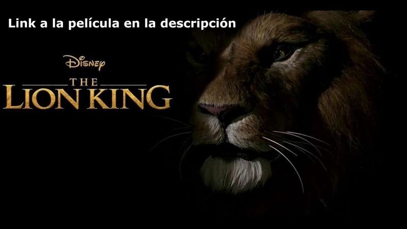 El Rey León 2019 link español latino gratis 1080p