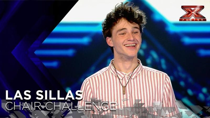 El tema bilingüe de Pol Granch, en francés y español, le da una silla | Sillas 2 | Factor X 2018