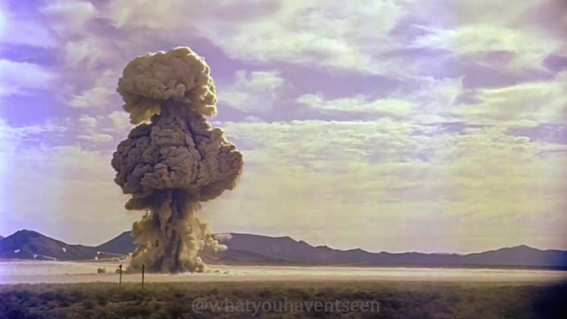 Nuclear Test Film Highlights Restored Footage New Films Epic Explosions