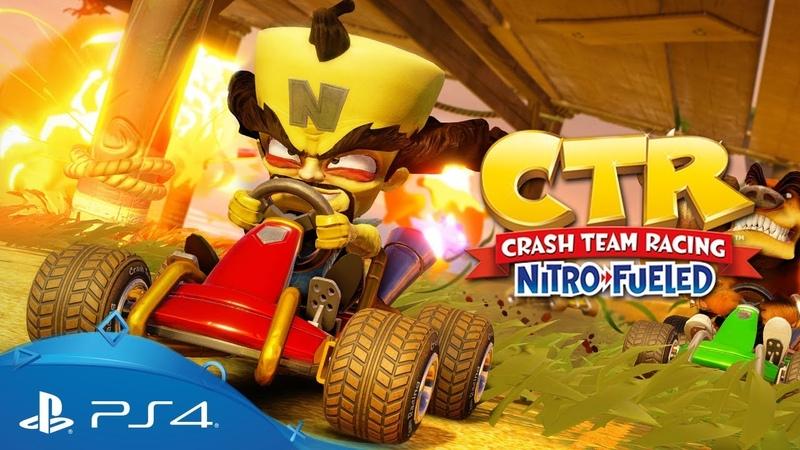 Crash Team Racing Nitro Fueled Gameplay Video PS4