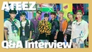 [Q A Interview] ATEEZ 에이티즈 You'll fall in love with the all-new ATEEZ. Period! (INCEPTION) [통통TV]
