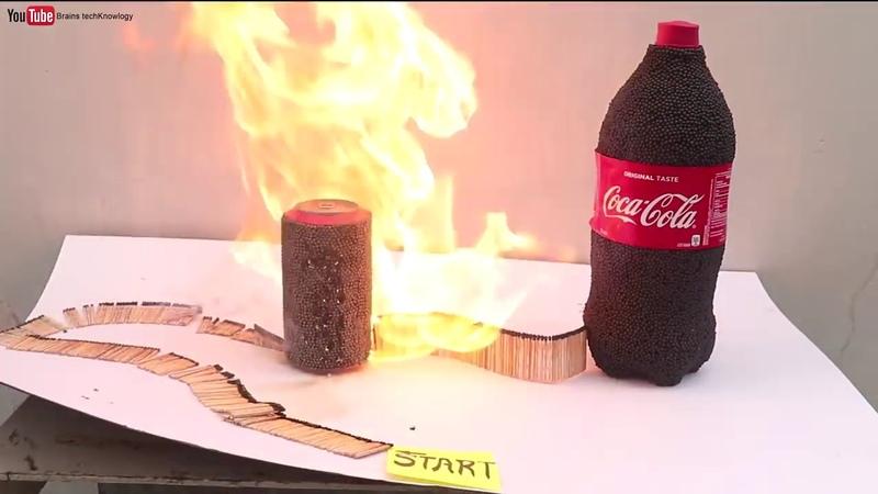 تجربة تأثير فحم الكولا مع الدومينو لاتنسي الاشتراك في القناه