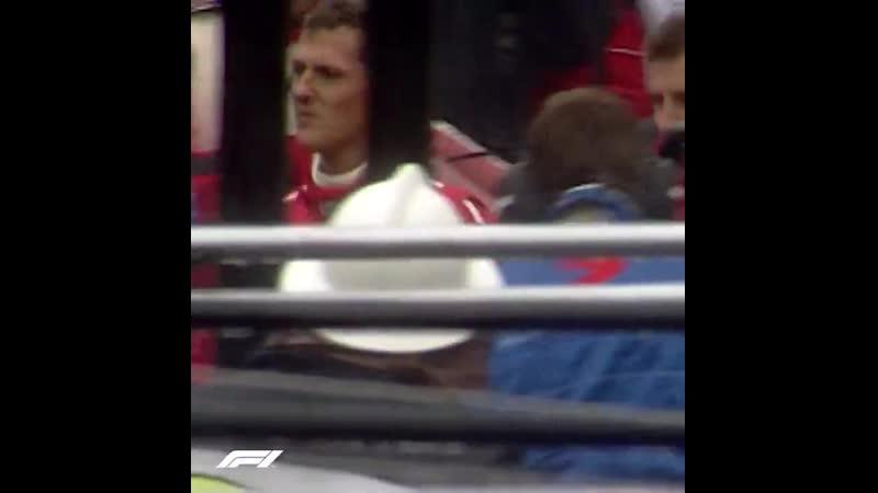 Schumacher's Infamous Crash