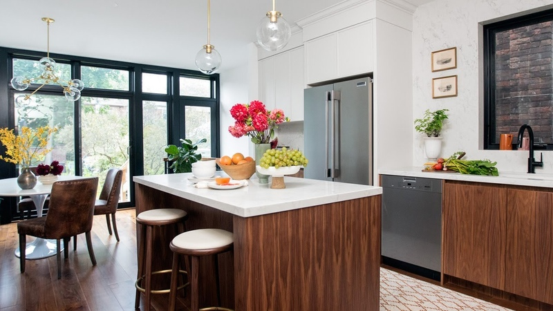 Kitchen Makeover: A Light-Filled Gathering Place    House Home