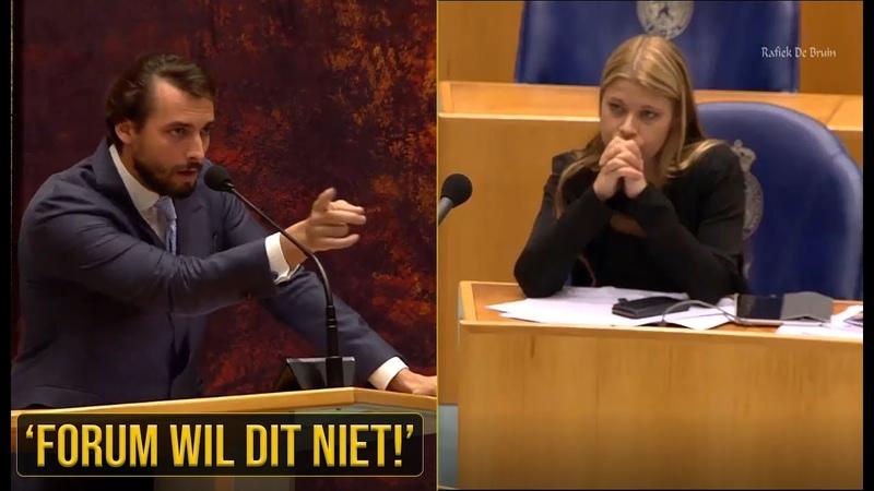 Baudet(FvD); 'Jullie willen allemaal dat de massale immigratie en klimaatgekte doorgaat!' - YouTube
