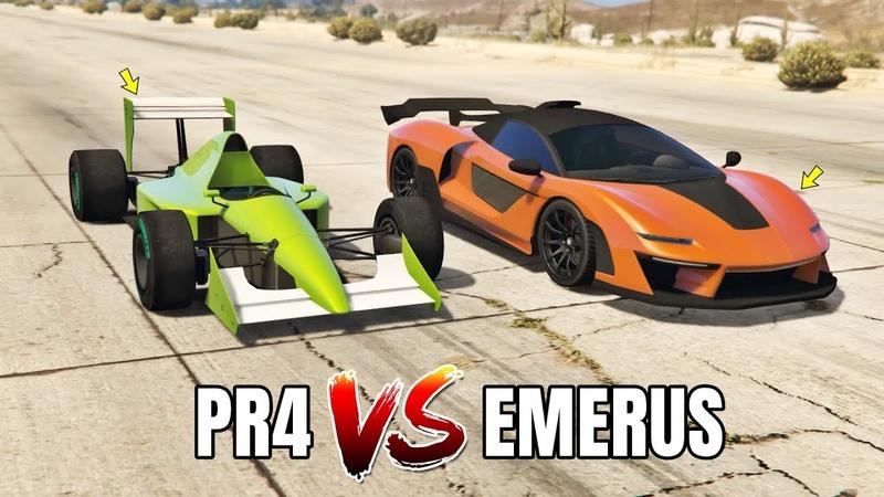 GTA 5 Online: PROGEN PR4 VS EMERUS (WHICH IS FASTEST?)