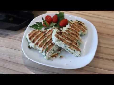 Chiken pancake recipe Tefal Optigrill ПП Куриная лепешка на Tefal Optigrill
