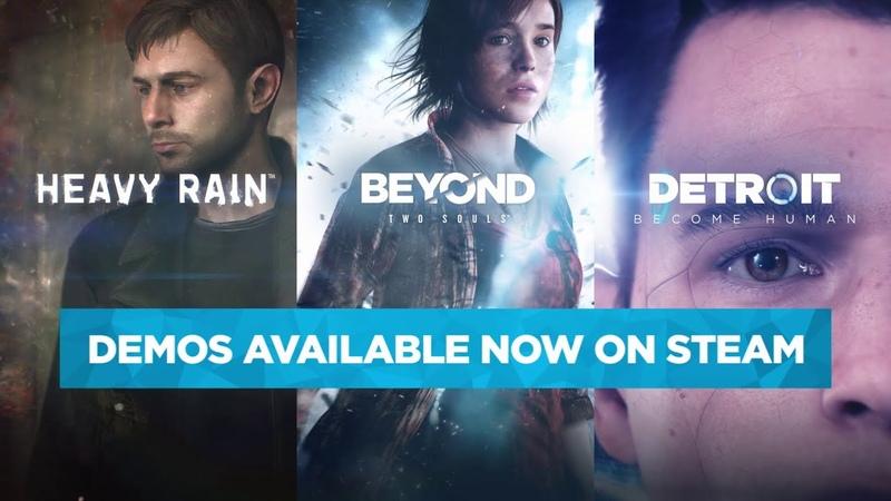 Steam Announcement Trailer Detroit: Become Human Beyond: Two Souls Heavy Rain Quantic Dream
