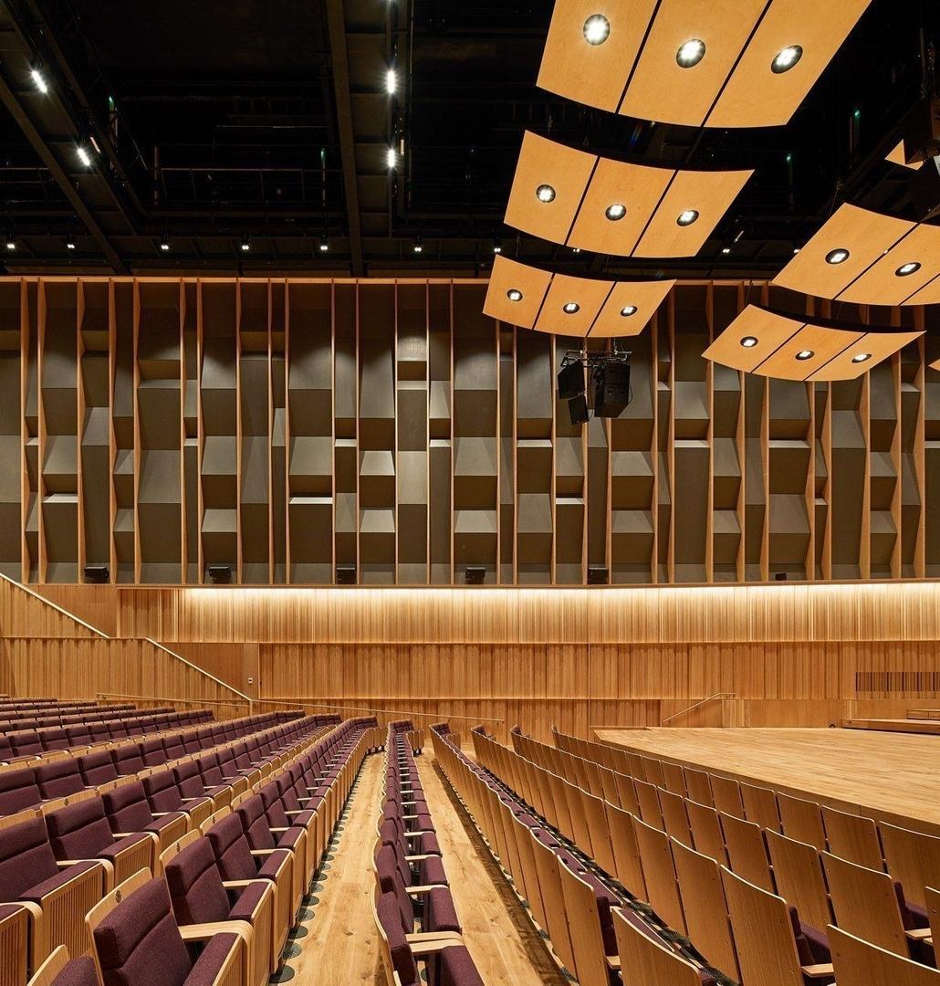 Sound Judgementby  Jason Flanagan on Feilden Clegg Bradley Studios' Royal Birmingham Conservatoire