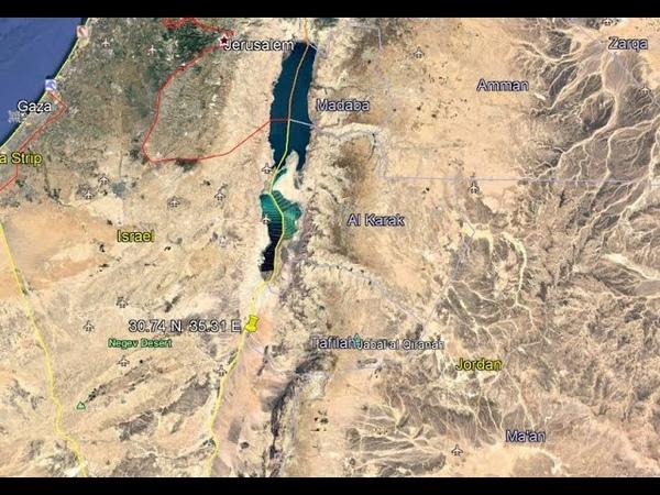 4 1 Earthquake Dead Sea Region 4 10 2020