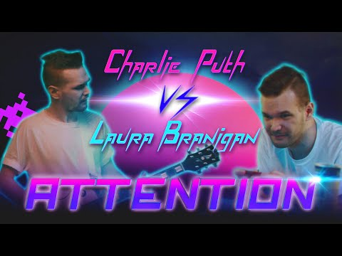 ATTENTION by Charlie Puth vs Laura Branigan 80s style MASHUP