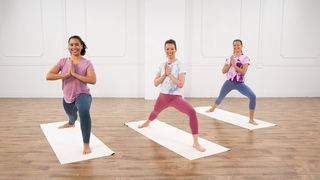 Kelsey J. Patel - 35-MinutePureJoyYoga, Cardio, &Meditation Session | Йога практика для всего тела