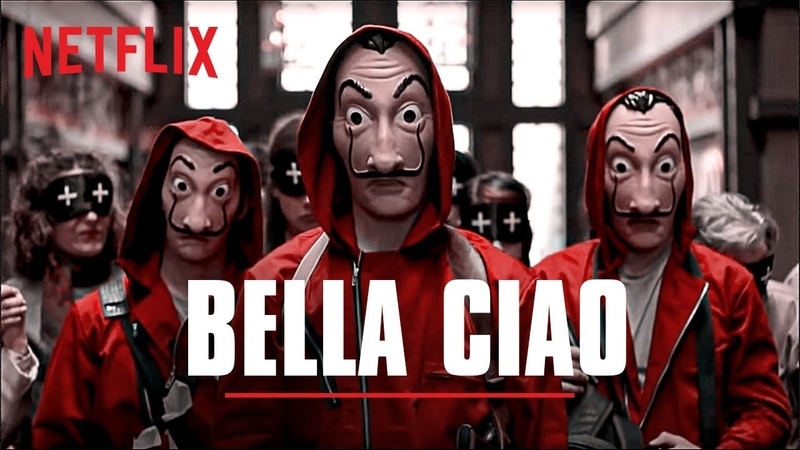 Bella Ciao Full Song La Casa De Papel Money Heist Netflix India
