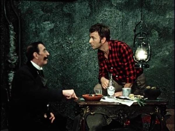 Зачем вы сюда приехали Я приехал по делу По какому делу По личному делу 12 стульев 1971 г