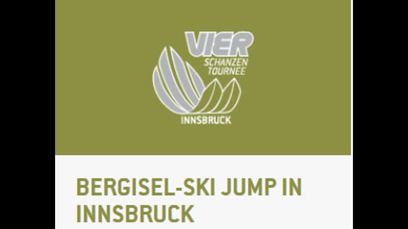 2020 01 03 Ski Jumping WC 4 Hills Tournament Innsbruck AUT HS 128 Qualification
