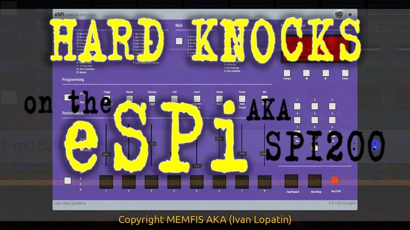 ESPi is OUT NOW Get Your SP1200 Rebirth FlackTrack By Funky RecordZ