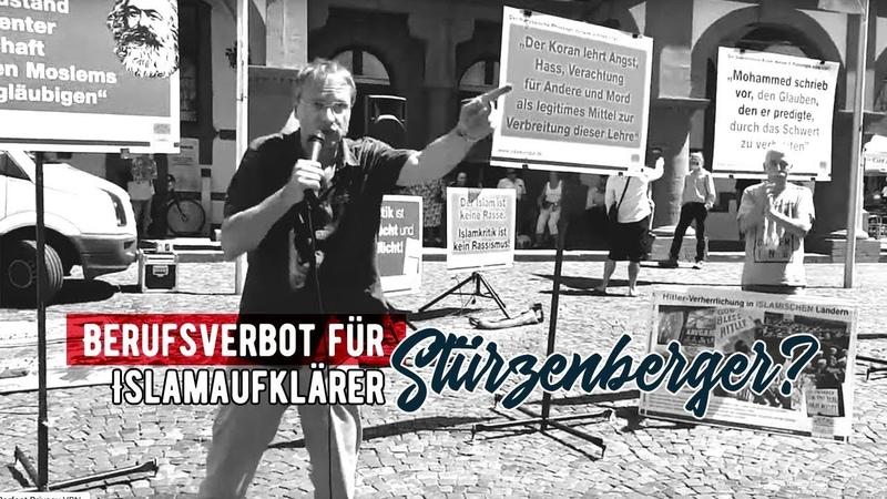 Berufsverbot für Islamaufklärer Michael Stürzenberger Olli klärt auf