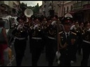Русский военный оркестр на параде за границей