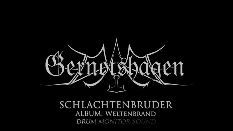 Gernotshagen Schlachtenbruder Wolfszeit Festival 2018 *only Drumcam*