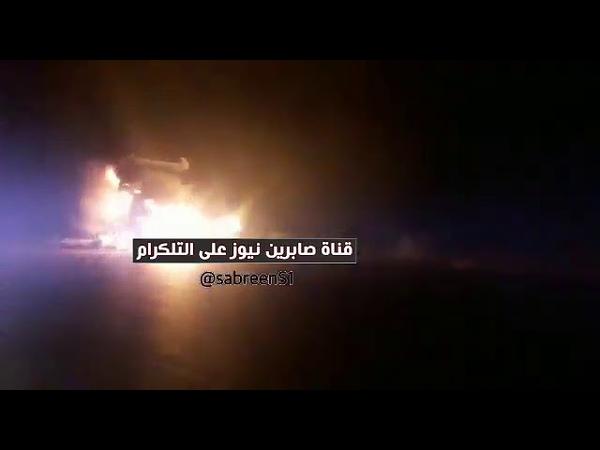 СРОЧНО нападение на колонну армии США горит техника