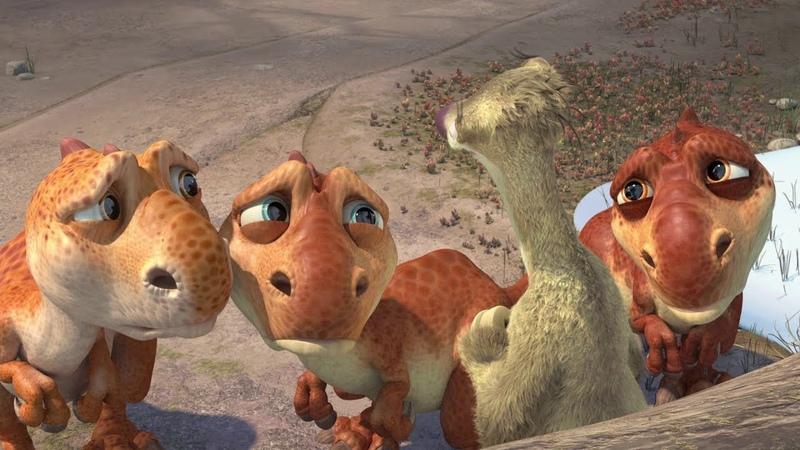 Я мать одиночка с тремя детьми - Ледниковый период 3: Эра динозавров