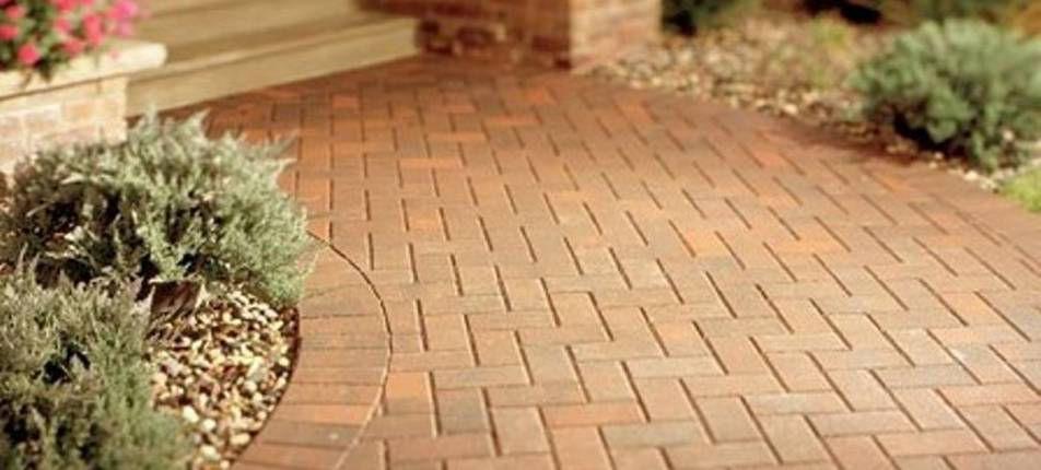 Варианты укладки тротуарной плитки на участке