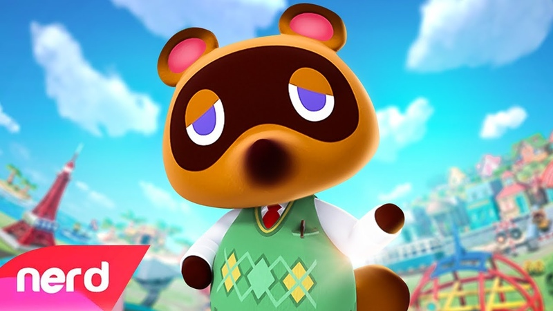 Animal Crossing New Horizons Song Beat of the Island NerdOut