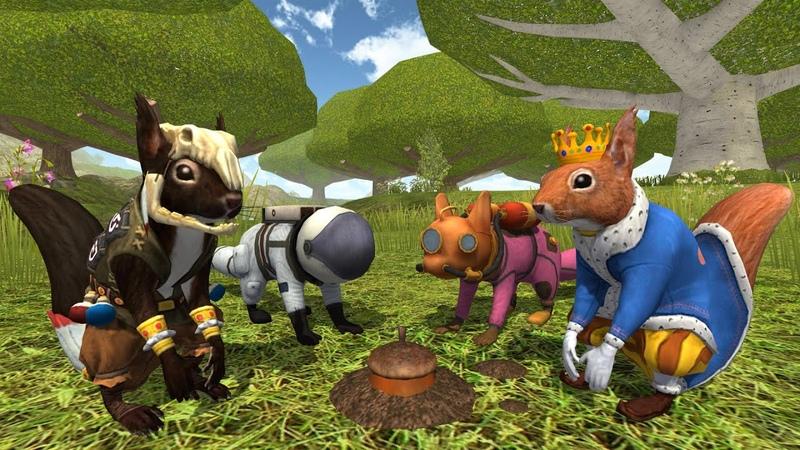 Squirrel Simulator 2 Online Симулятор Белки 2 Онлайн
