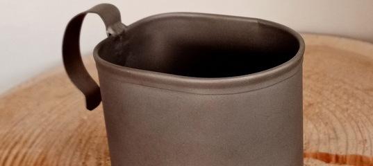 Новое поступление туристической посуды из титана от российской компании «Роза ветров»