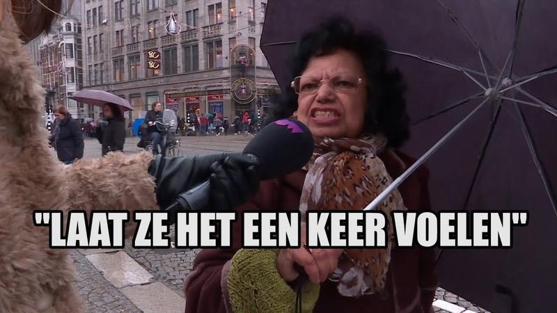 13439 Heftig Amsterdammers zien boze boeren op de Dam YouTube