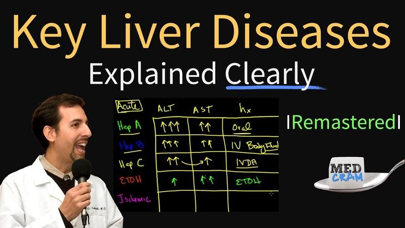 Diagnosis of Key Liver Diseases Hepatitis A B C vs Alcoholic vs Ischemic AST vs ALT Labs