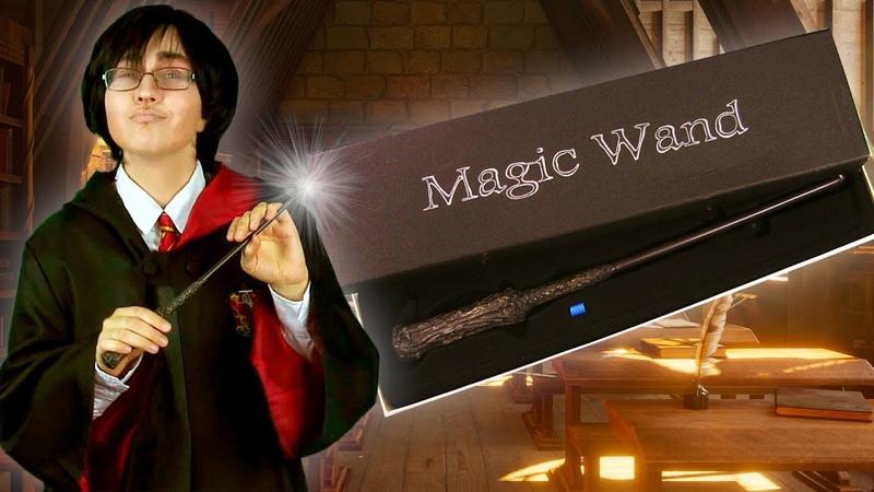 Светящаяся волшебная палочка Гарри Поттера с Алиэкспресс
